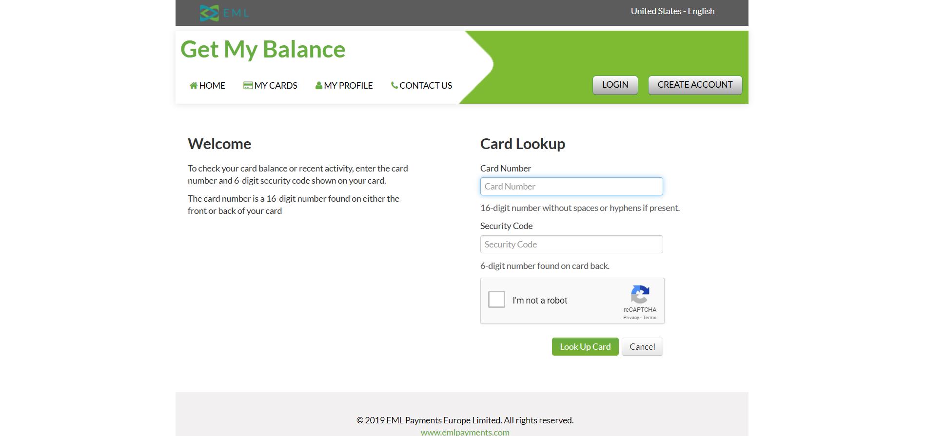 Vérificateur de Solde de Carte de Crédit